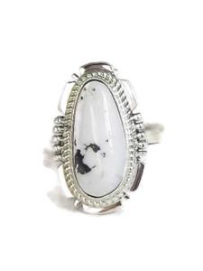 White Buffalo Ring Size 7 by Jake Sampson (RG4520)