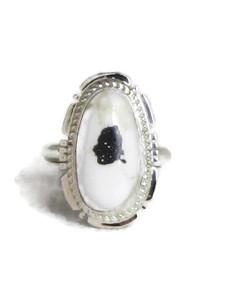 White Buffalo Ring Size 7 by Jake Sampson (RG4522)