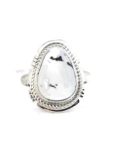 White Buffalo Ring Size 8 by Jake Sampson (RG4523)