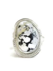 White Buffalo Ring Size 8 by Jake Sampson (RG4524)