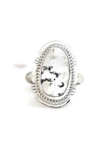 White Buffalo Ring Size 6 by Jake Sampson (RG4526)