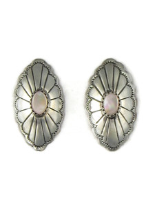 Pink Mother of Pearl Concho Earrings (ER3560)