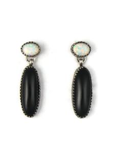 Onyx & Opal Earrings (ER5365)
