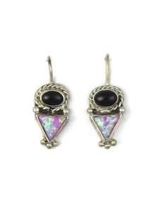 Onyx & Opal Earrings (ER5367)