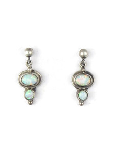 Silver Opal Post Earrings (ER5392)