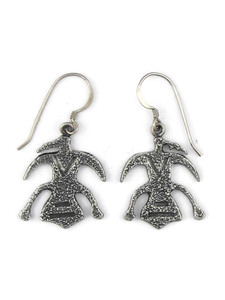 Silver Petroglyph Earrings (ER5401)