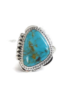 Manassa Turquoise Ring Size 7 by Lucy Jake (RG4532)
