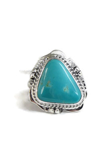 Manassa Turquoise Ring Size 7 by Lucy Jake (RG4533)