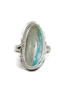 Boulder Turquoise Ring Size 7 by Lucy Jake (RG4541)