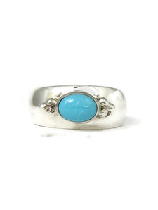 Sleeping Beauty Turquoise Ring Size 7 by Fredrick Chavez (RG4546-S7)