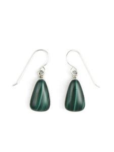 Silver Malachite Earrings (ER5427)