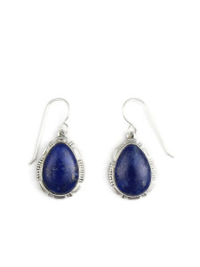 Silver Lapis Earrings (ER5431)
