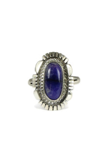 Silver Sugilite Ring Size 8 (RG4569)