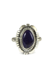 Silver Sugilite Ring Size 10 (RG4581)