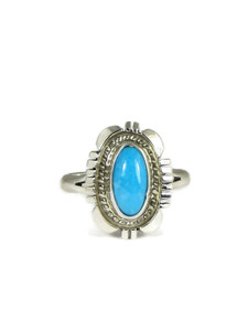 Sleeping Beauty Turquoise Ring Size 8 1/2 (RG4377-S8.5)