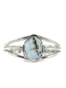 Dry Creek Turquoise Bracelet by Lamy Yazzie (BR6273)
