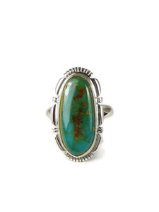 Royston Turquoise Ring Size 9 by Arlene Yazzie (RG6718)