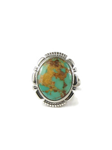 Royston Turquoise Ring Size 7 by Arlene Yazzie (RG6720)