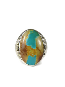 Royston Boulder Turquoise Ring Size 12 (RG6724)