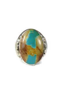 Royston Boulder Turquoise Ring Size 12 (RG6724)