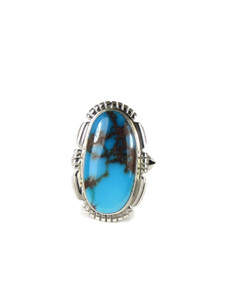 Egyptian Turquoise Ring Size 6 by Norvin Johnson (RG4547)