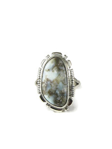 Dry Creek Turquoise Ring Size 8 (RG4594)