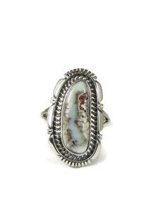 Dry Creek Turquoise Ring Size 9 by Lamy Yazzie (RG4599)