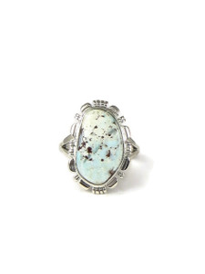 Dry Creek Turquoise Ring Size 9 by Lamy Yazzie (RG5072)