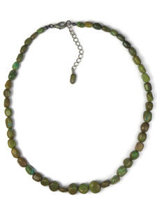 Green Turquoise Bead Necklace (NK4701)