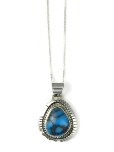 Egyptian Turquoise Pendant by Norvin Johnson (PD4239)