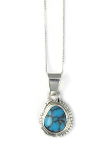 Egyptian Turquoise Pendant by Norvin Johnson (PD4240)