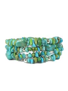 Turquoise Wrap Bracelet (BR6294)