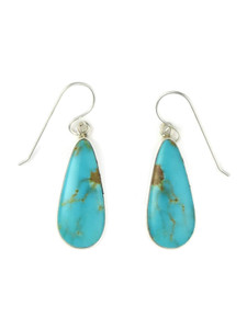 Kingman Turquoise Earrings by Shirley Henry (ER5451)