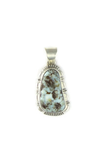 Dry Creek Turquoise Pendant by Lamy Yazzie (PD4243)