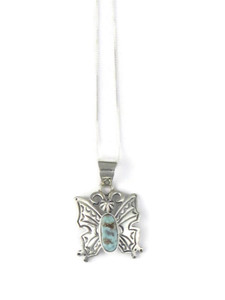 Dry Creek Turquoise Butterfly Pendant (PD4246)
