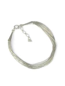 10 Strand Liquid Silver Bracelet (LSBR10)