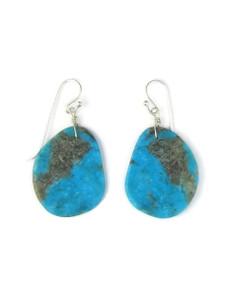 Turquoise Slab Earrings (ER5478)