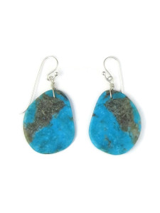 Turquoise Slab Earrings (ER5478)