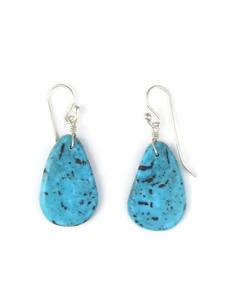 Turquoise Slab Earrings (ER5482)