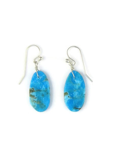 Turquoise Slab Earrings (ER5484)