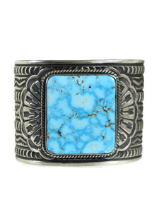 Kingman Turquoise Cuff Bracelet by Sunshine Reeves (BR7002)