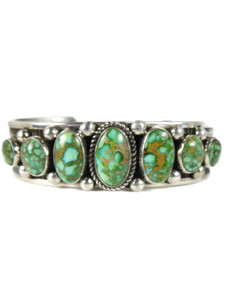 Sonoran Turquoise Row Bracelet - Large by Albert Jake (BR7004)