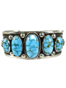 Kingman Turquoise Row Bracelet by Albert Jake (BR7006)