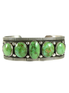 Sonoran Turquoise Row Bracelet by Happy Piaso (BR7008)