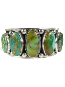 Royston Turquoise Row Bracelet by Albert Jake (BR7012)