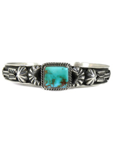 Royston Turquoise Bracelet with Arrows by Tsosie White (BR7019)