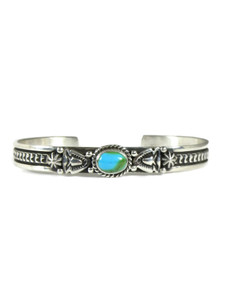 Kingman Turquoise Bracelet by Happy Piaso (BR7024)