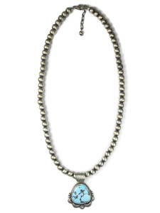 Golden Hills Turquoise Necklace by Randy Boyd (NK4752)
