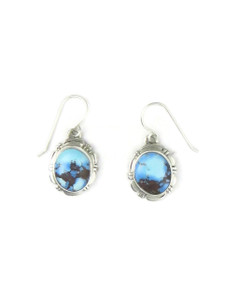 Golden Hills Turquoise Earrings by Arlene Yazzie (ER5498)