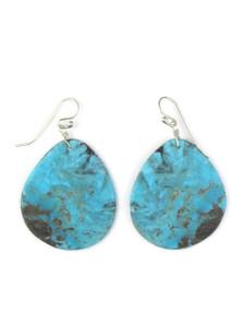 Turquoise Slab Earrings (ER5035)